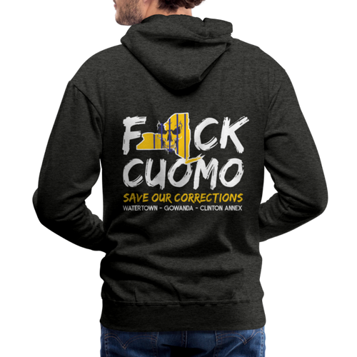 Save Our Corrections Hoodie - Mens - charcoal gray