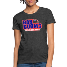 Load image into Gallery viewer, Ban Cuomo Women's T-Shirt - heather black