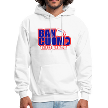 Load image into Gallery viewer, Ban Cuomo Men's Hoodie - white