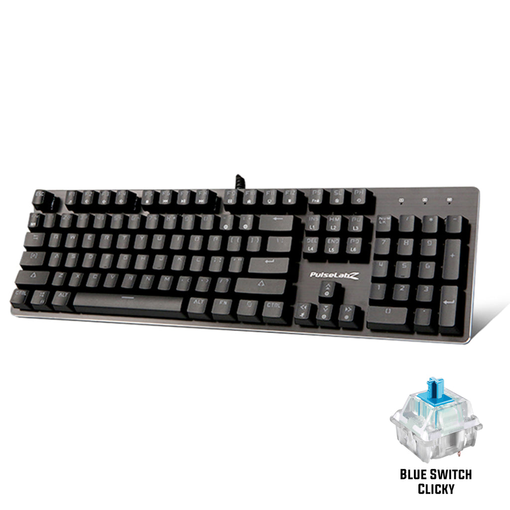 Bundle: PL760 Full Blue Switch Keyboard + P960 Gaming Mouse + XL Weapon Mousepad