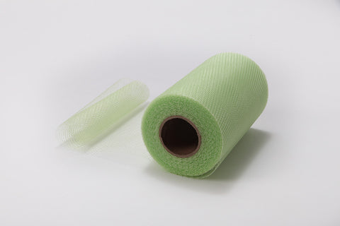 Mint Nylon Netting Fabric