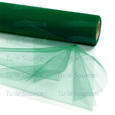 Hunter Green Tulle