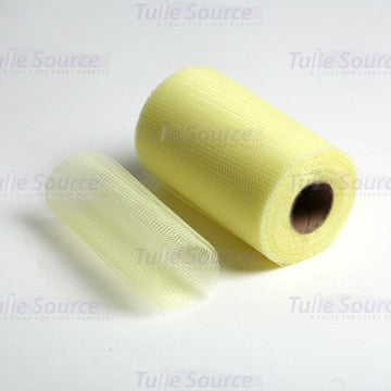 Maize Nylon Netting Fabric