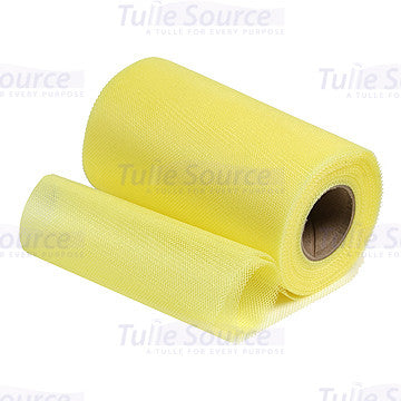 Lemon Yellow Petticoat Netting Fabric