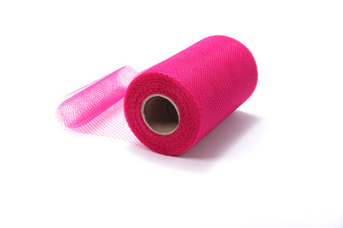 Light Garnet Pink Nylon Netting Fabric