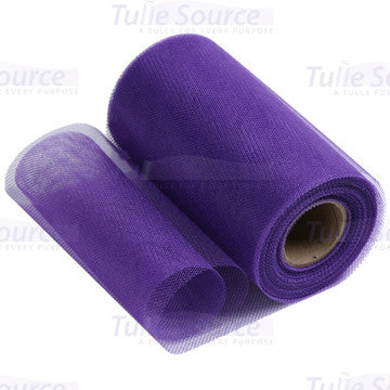 Plum Purple Petticoat Netting Fabric