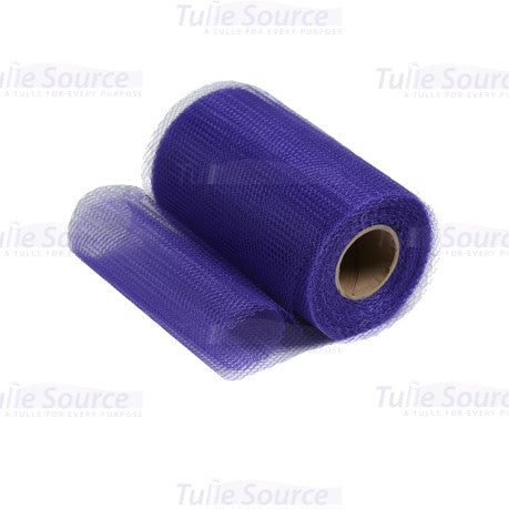 Purple Nylon Netting Fabric