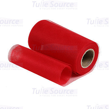 Red Petticoat Netting Fabric