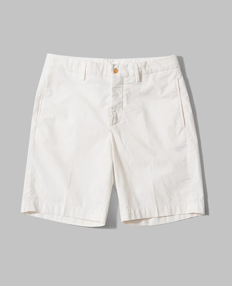 【サイズ未登録】COTTON POPLIN BERMUDA SHORTS