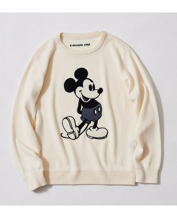 1PIU1UGUALE3/DISNEY MICKEY MOUSE/SWEATER