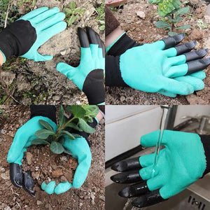 GARDEN HEROES™ Clawed Gloves for Digging
