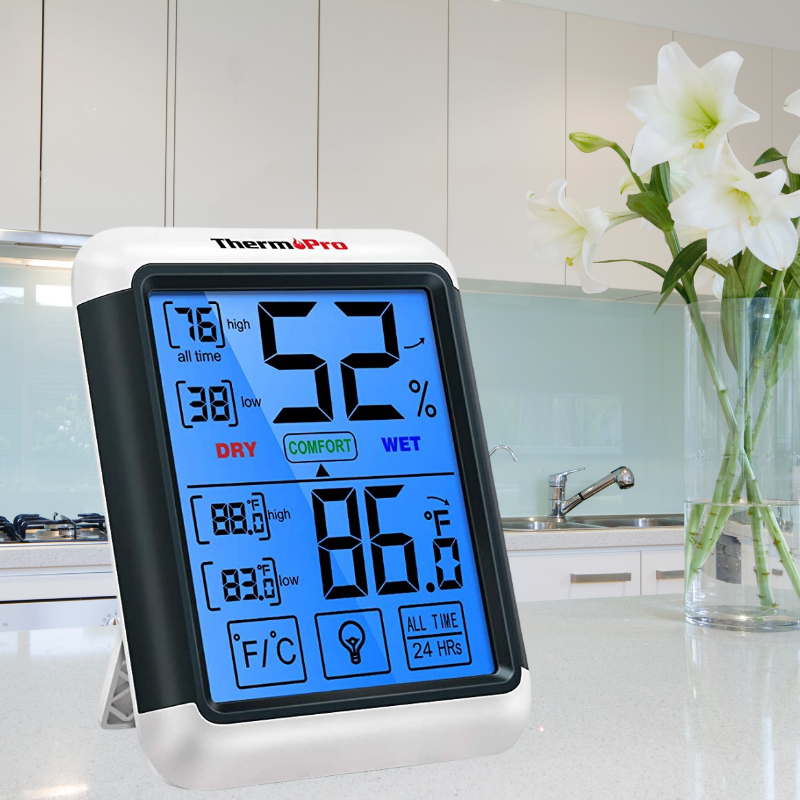 Thermpro TP55 Digital Hygrometer Thermometer