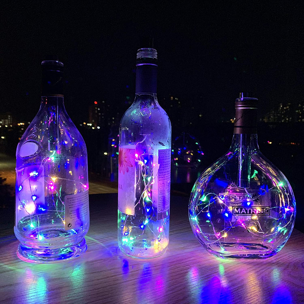 GARDEN HEROES™ Fairy Wine Bottle LED Lights (BUY 6, GET 1 FREE)