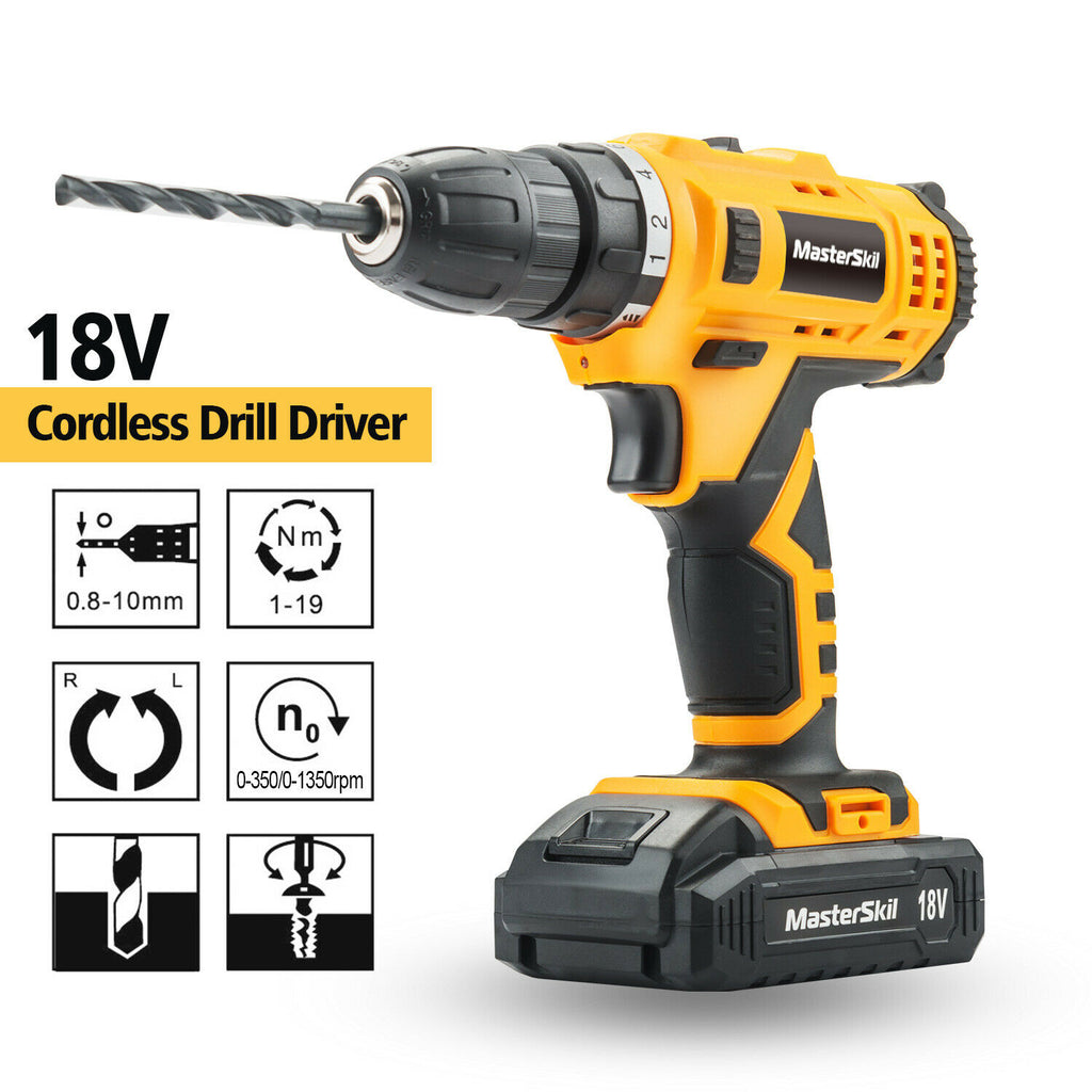 GARDEN HEROES™ 92 PC Power Tool Kit 18V Cordless Drill