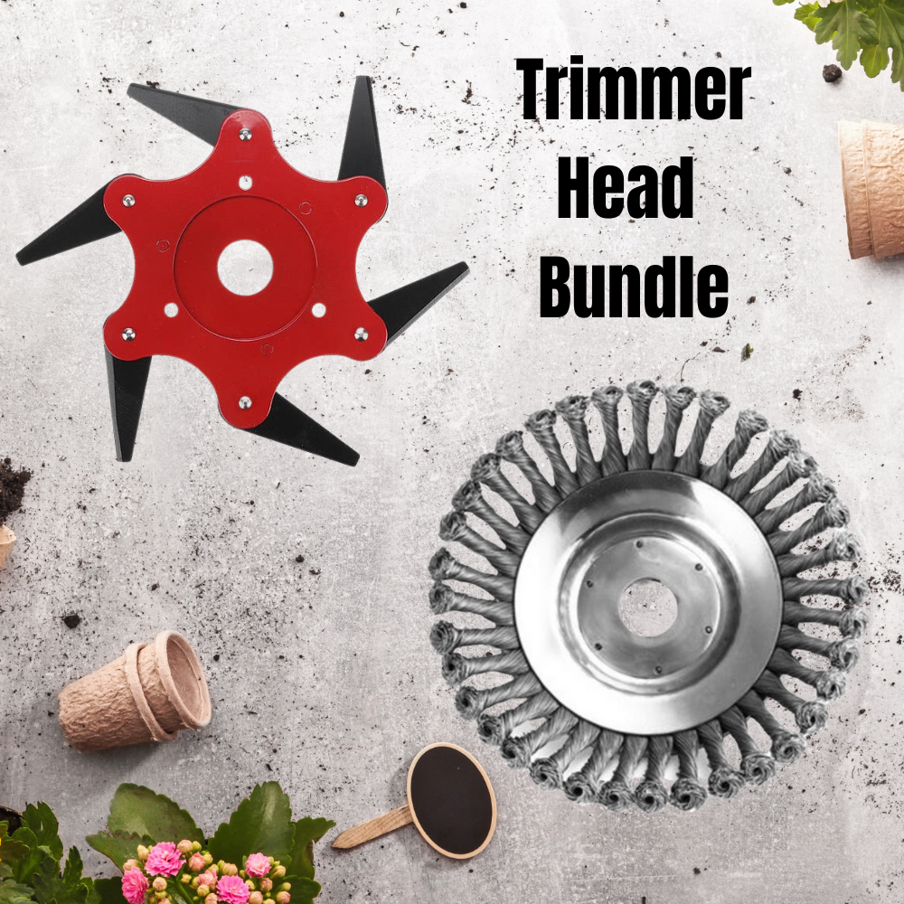 "GARDEN HEROES™ 6/8"" Steel Wire Miracle Trimmer King"
