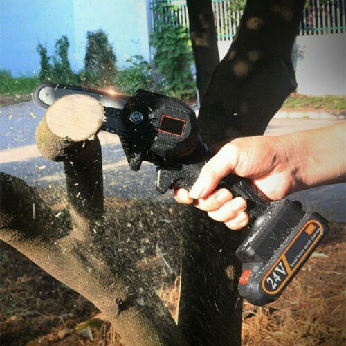 "GARDEN HEROES™ 4"" Mini Cordless Electric Chainsaw"
