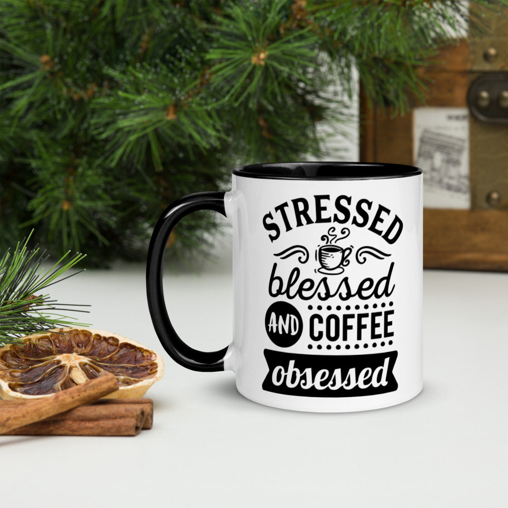 Stressed Blessed and Coffee - Mr. Blanco's Coffee House