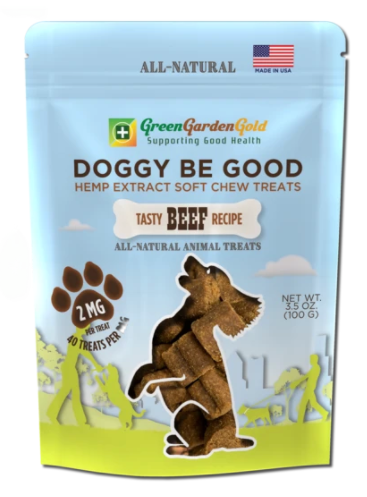 Doggy Be Good™ CBD Soft Chew Treats