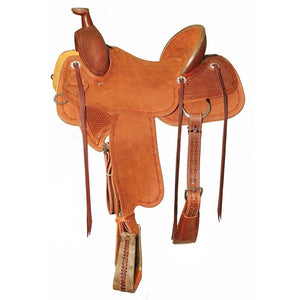 Circle Y Baxter Ranch Saddle, Regular Tree