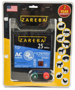 Zareba 25 Mile AC-Powered Low-Impedance Charger