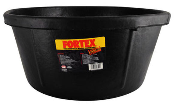Rubber Utility Tub, 6-1/2 gal