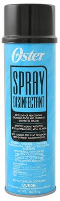 Oster Spray Disinfectant, 16 oz