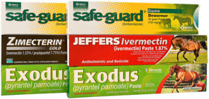 Jeffers Premium Horse Wormer Pack
