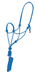 Poly Braided Rope Halter with Lead