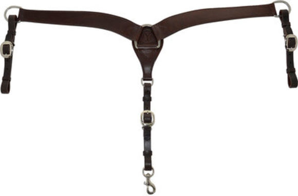 "Circle Y 2"" Contoured Breast Collar"