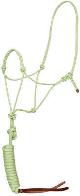 Bamboo Rope Halter & Lead