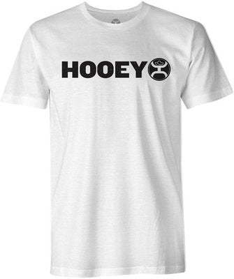 "Hooey ""Lock-Up"" Crew Neck Shirt, White"