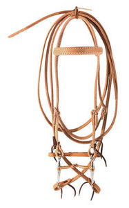 Complete Bridle w/ Copper Tom Thumb