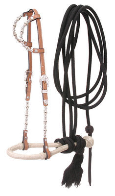 Double Ear Bosal & Mecate Set