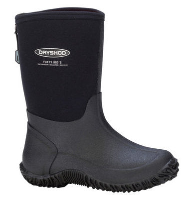 Kid's Tuffy All Season Sport Boot, Black/Grey