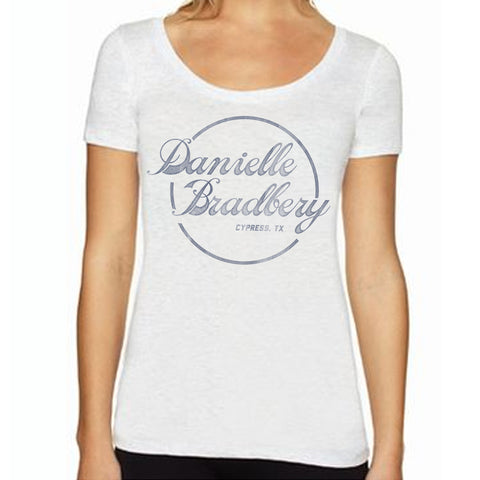 Danielle Bradbery DB Circle Logo Juniors T-Shirt