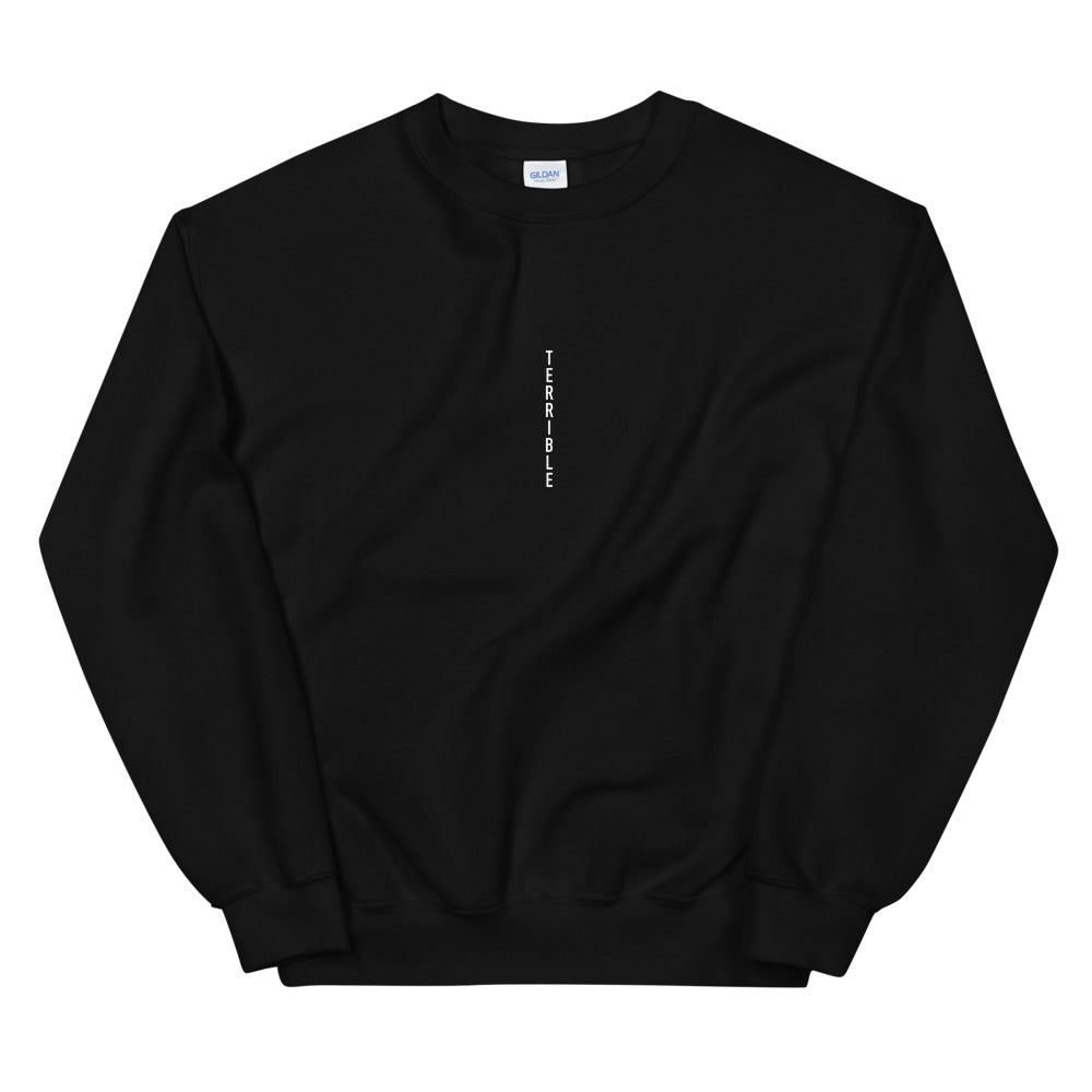 Vertical Integration Crewneck - Black