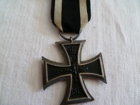 GERMAN IRON CROSS 2ND CLASS UNMARKED