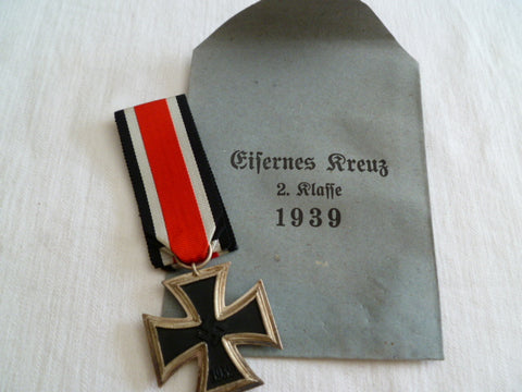 GERMAN IRON CROSS 2ND CLASS W/PACKET