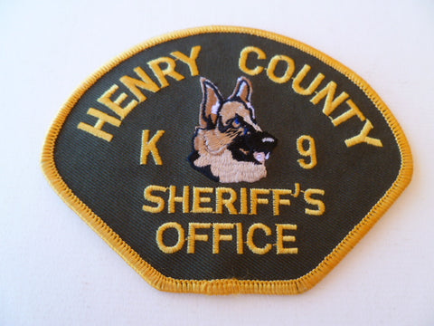 henrycounty sheriffs office K9