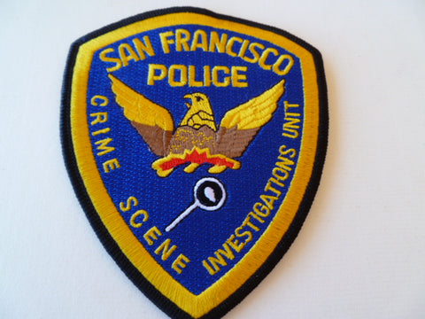 san francisco police crime scene inv unit