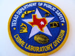 texas dept of public safety crime lab division