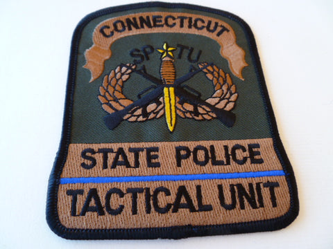 connecticut state police tactical unit