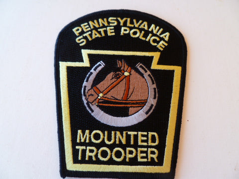 pennsylvania state police mounted trooper