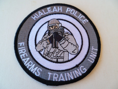 haleah police firearms unit