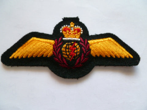 CANADA  wool emb airforce wing nav
