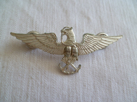 MEXICO NAVY  WINGS METAL 2 screw backs