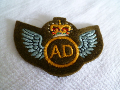 NEW ZEALAND genuine AIR DISPATCH wings emb
