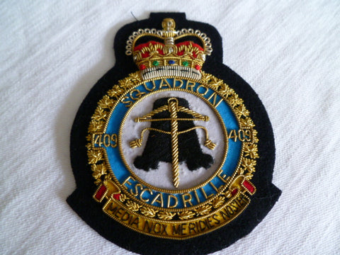 BRITAIN SQUADRON BULLION 409  ex cond genuine