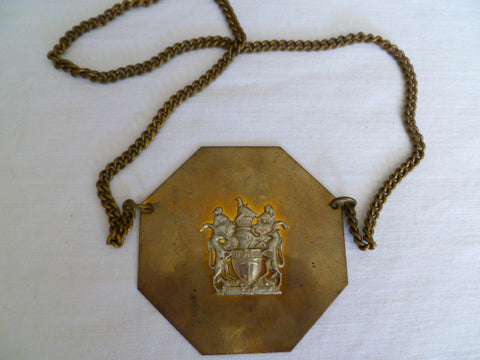 BRITISH/ AFRICA chiefs gorget nice piece and rare