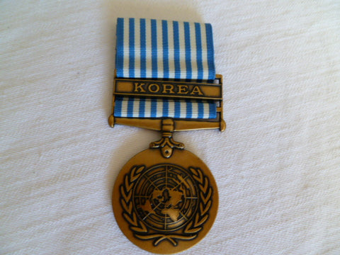 UNITED NATIONS KOREA MEDAL F/S later issue